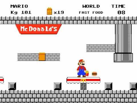 Fat Mario vs Fat Sonic Fat Mario Bros