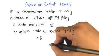 Explore or Exploit Lemma
