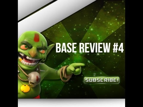Clash Of Clans - Base Review #4 - CoC TH6 TH7 TH8