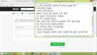 How To Create First Gig on Fiverr Lecture03