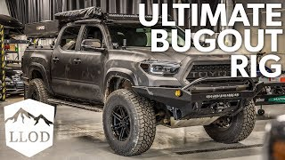 THE MOST functional Toyota Tacoma? Last Line of Defense Rig Walk Around - Mike LLOD