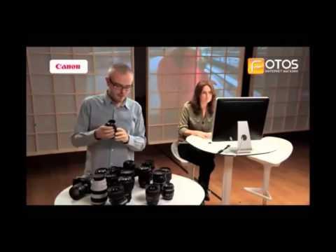 Видео как выбрать объектив для Canon