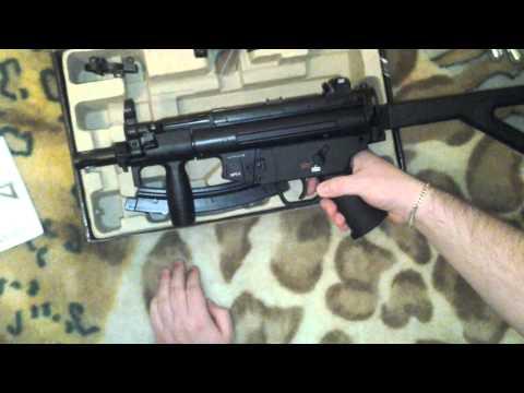 Обзор на пневматический пистолет-пулемет Umarex Heckler & Koch MP5 K-PDW