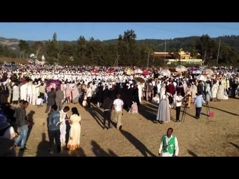 Timket Crowd 2017 In  Ethiopia Nice View