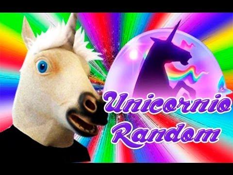 Dramatic Unicorn Mask - El Unicornio RANDOM