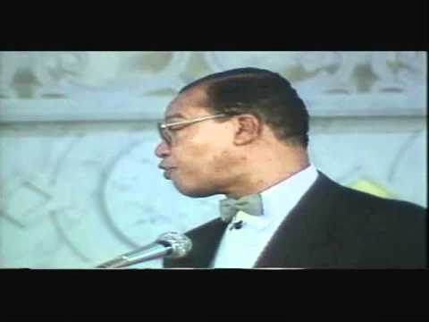 FARRAKHAN~And The Jews Planned The Rising Assault On Black Leadership PT 2/3