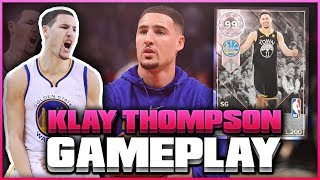 NEW PINK DIAMOND KLAY THOMPSON GAMEPLAY!! OMG HE IS INCREDIBLE! NBA 2K18 MYTEAM