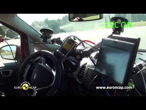 Euro NCAP | Ford Ecosport | 2013 | Электронный контроль устойчивости