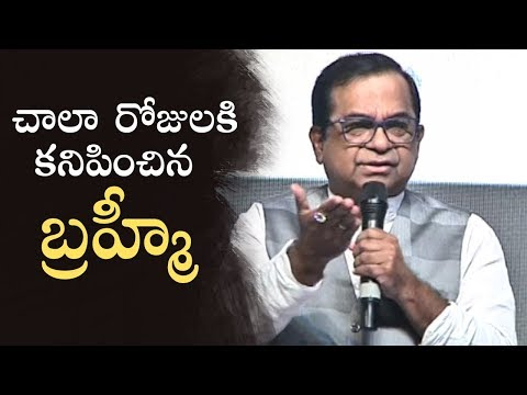 Comedian Brahmanandam Speech @ Telangana Devudu Movie Audio Launch | Manastars