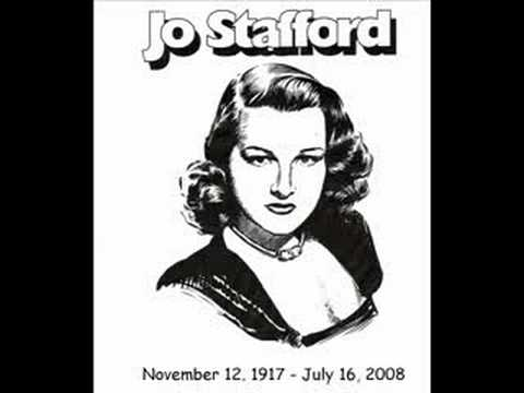 Jo Stafford - The Nearness Of You - 1956