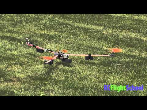 Home Made Tri Copter FPV Setup & Maiden Flight