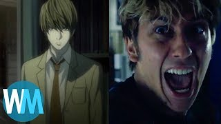 Top 10 MODIFICATIONS STUPIDES dans DEATH NOTE de NETFLIX !