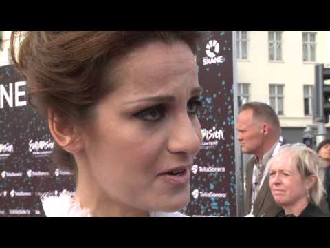 Eurovision 2013 stars shine on the red carpet