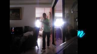 Pedro Junior Borbon bailando