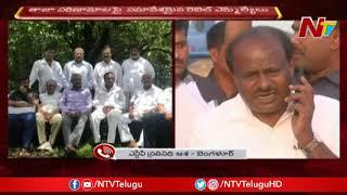 కర్ణాటకలో కొత్త డ్రామా..! | Karnataka CM Kumaraswamy Admitted in Hospital | NTV