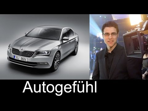 All-new Skoda Superb 3rd generation REVIEW at world premiere Superb 2015/2016 - Autogefühl