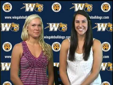 Meet the Bulldogs - 2012 Wingate University Volleyball Team