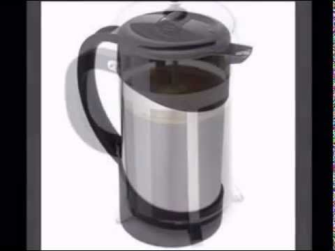 Thermos Vacuum Insulated Stainless Steel Gourmet Coffee Press