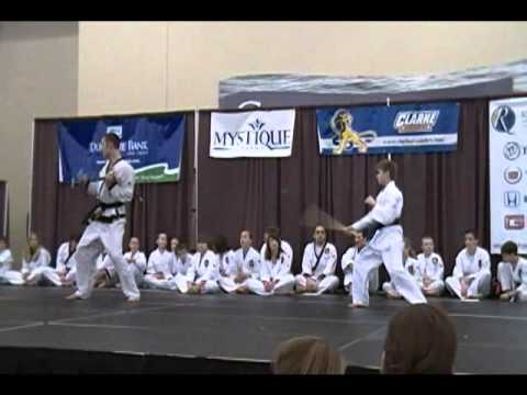 tang soo do karate demo Image 1
