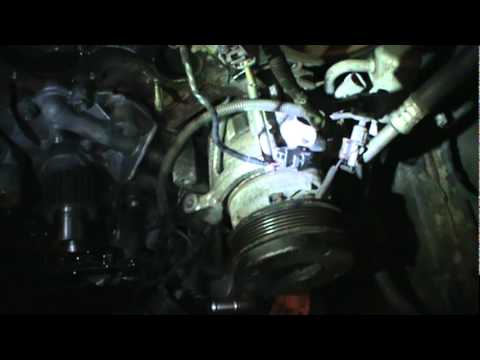 toyota tundra timing belt replacement  part 1/3