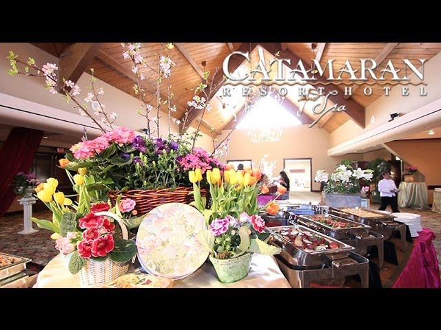 Easter Brunch at the Catamaran Resort Hotel and Spa