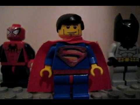 Lego superman batman spiderman youtube - Spiderman batman lego ...