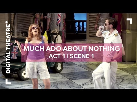 Much Ado About Nothing - David Tennant | 'What my dear Lady disdain' | Digital Theatre+