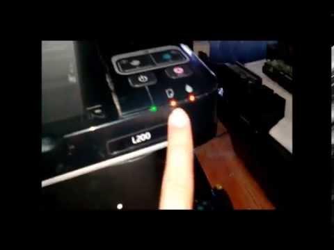 Reparando Epson L200 (Escaner vibra - Flexores) Fix