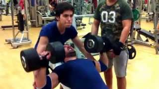 Serkan 84 KG Incline Dumbbell Press