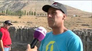 فقرا منطقة لبنانية لممارسة رياضة تسلق الصخور