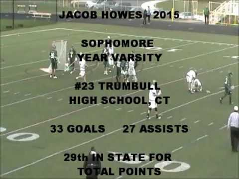 Jacob Howes- 2015 Trumbull High School Sophomore Year