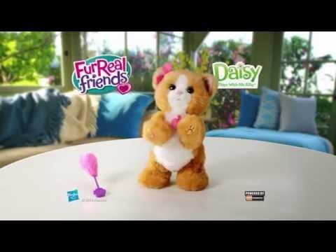 Интерактивный игривый котенок Дейзи FurReal Friends
