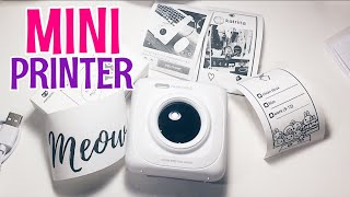 PAPERANG P1 Bluetooth Portable Printer UNBOXING and DEMO (TAGALOG) SHOPEE ORDER