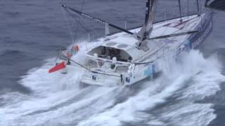The incredible footage of Hugo Boss and Banque Populaire North of the Kerguelen