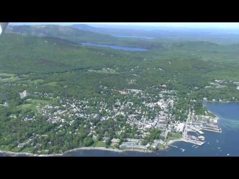 Acadia Air Tour Flight Bar Harbor-ME