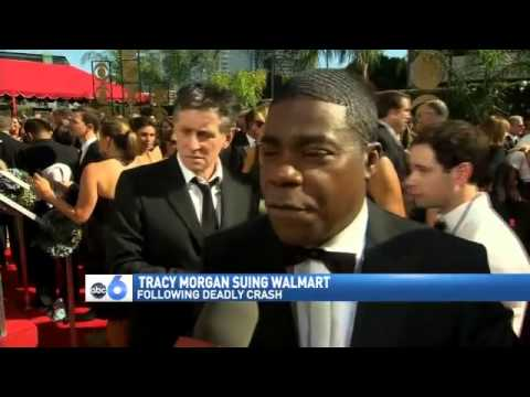 Tracy Morgan Sues Wal-Mart for Crash That Killed 1