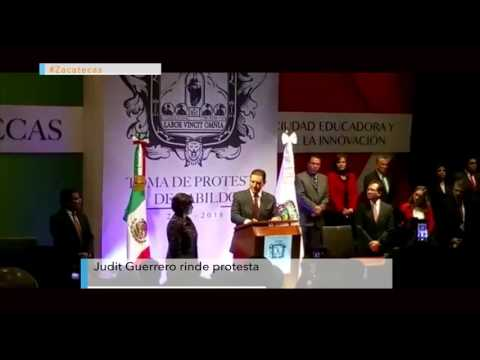 Judit Guerrero rinde protesta