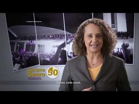 Luciana Genro - Programa 2 - Junho (com Marcelo Freixo)