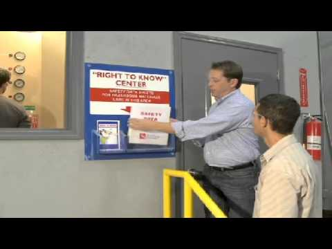GHS - Hazard Communication & The Global Harmonizing System - Safety Training Video Image 1