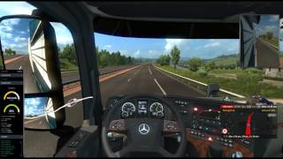ETS2MP Driving with GlobEx Map - Job 3