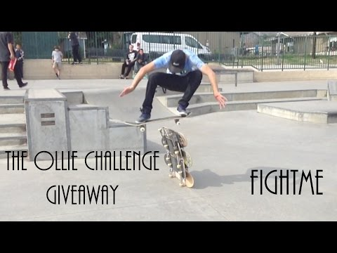 The Ollie Challlenge Giveaway - FightMe