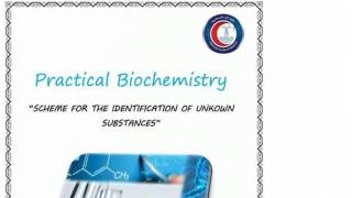 Practical Biochemistry for Alex school of medicine - 1 (scheme) - Mahmoud Ettaweel