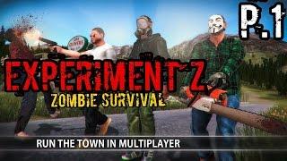 Experiment Z - Zombie Survival P.1 | เกมพึ่งมา มีโปรแล้วหรอ?
