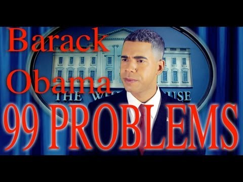 99 Problems But Mitt Ain t One (Obama Rally)