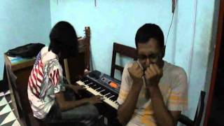 O Mor Ramjaner Oi Rojar Sheshe....Mouth organ (Harmonica) Cover