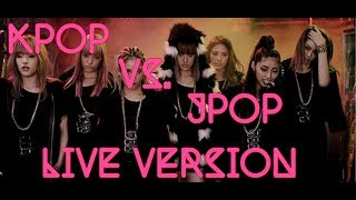 Download Lagu KPOP VS JPOP LIVE VERSION (HD) Gratis STAFABAND