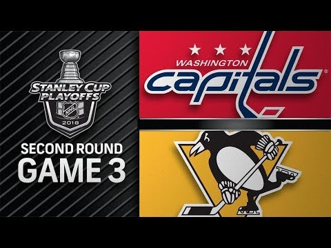 Washington Capitals vs Pittsburgh Penguins – May. 01, 2018 | Game 3 | Stanley Cup 2018. Обзор