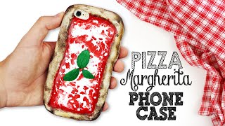 DIY | Pizza Margherita Phone Case Tutorial
