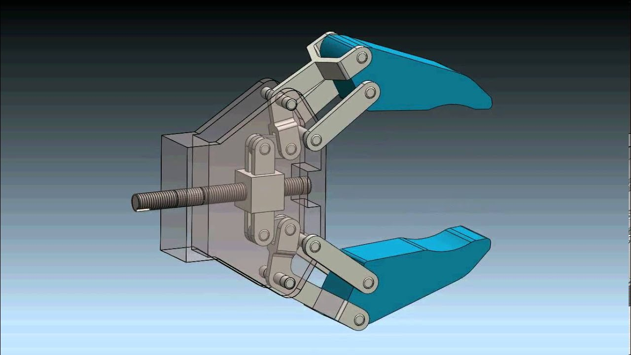 Robot Gripper Mechanism in