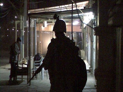 1/4 Bravo, Dismounted Patrol, Fallujah, Iraq 2008